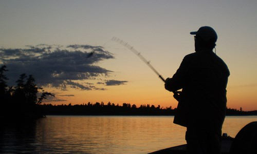 Capturing the excitement of fishing in Northwest Ontario